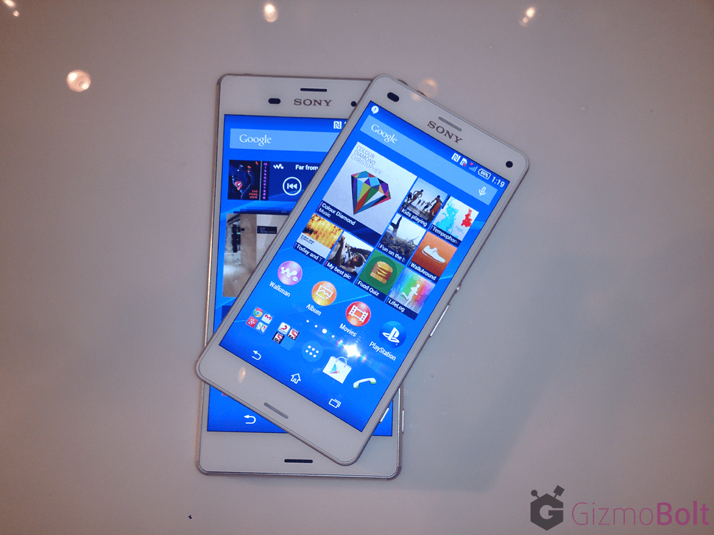 Buy Xperia Z3, Z3 Compact in India