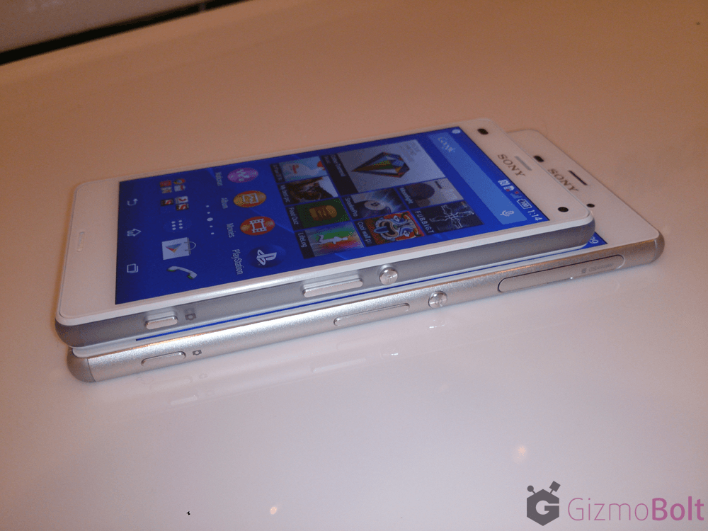 Xperia Z3 Compact Thickness 8.6 mm