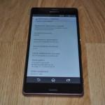 Xperia Z3 23.0.A.2.105 firmware update rolling