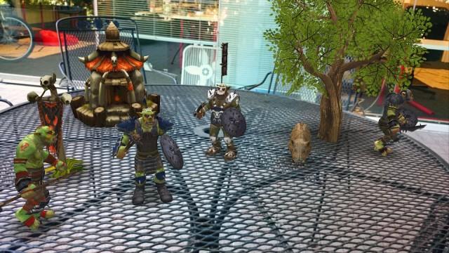 AR effect theme Orcs
