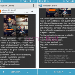 Sony Album 6.5.A.0.10 update rolling – Redesigned List Views for Folders and Faces