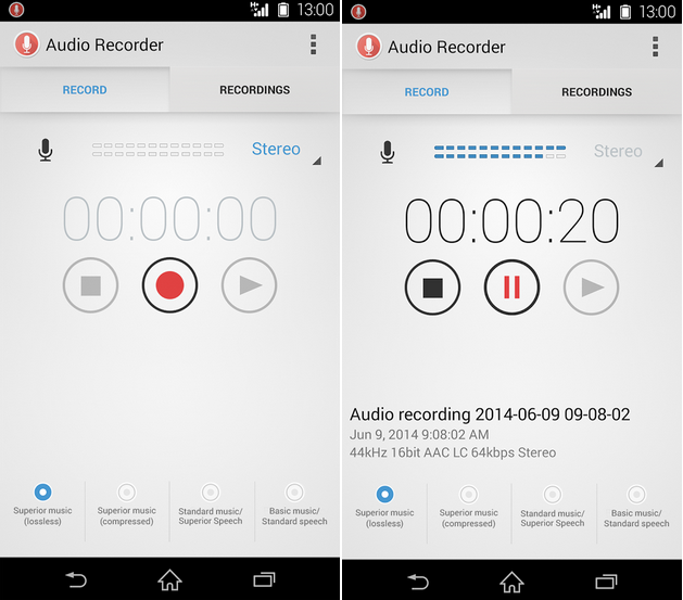Download Audio Recorder 1.00.26 apk