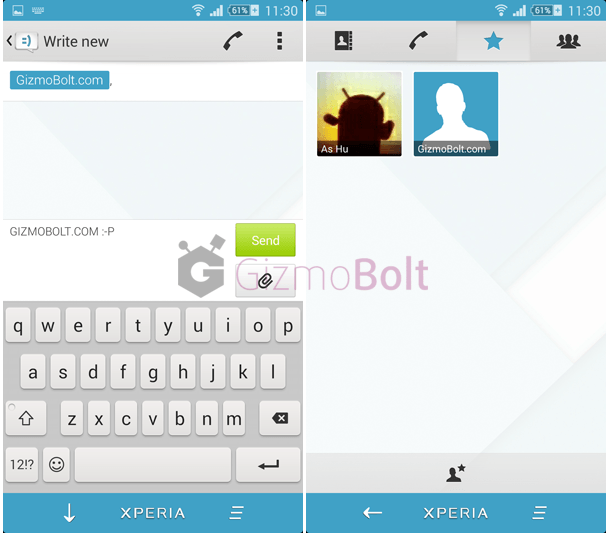 Download Xperia MateriaL theme Free apk