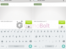 Google Android 5.0 Lollipop Keyboard Material Light