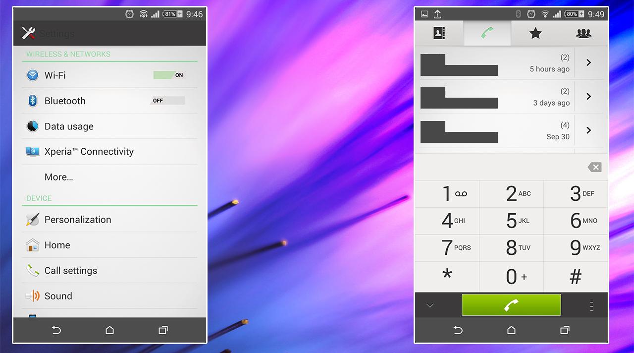 HTC Sense 6 Theme UI