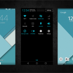 Xperia Android 5.0 L Material Design Themes suit – 8 Color Themes