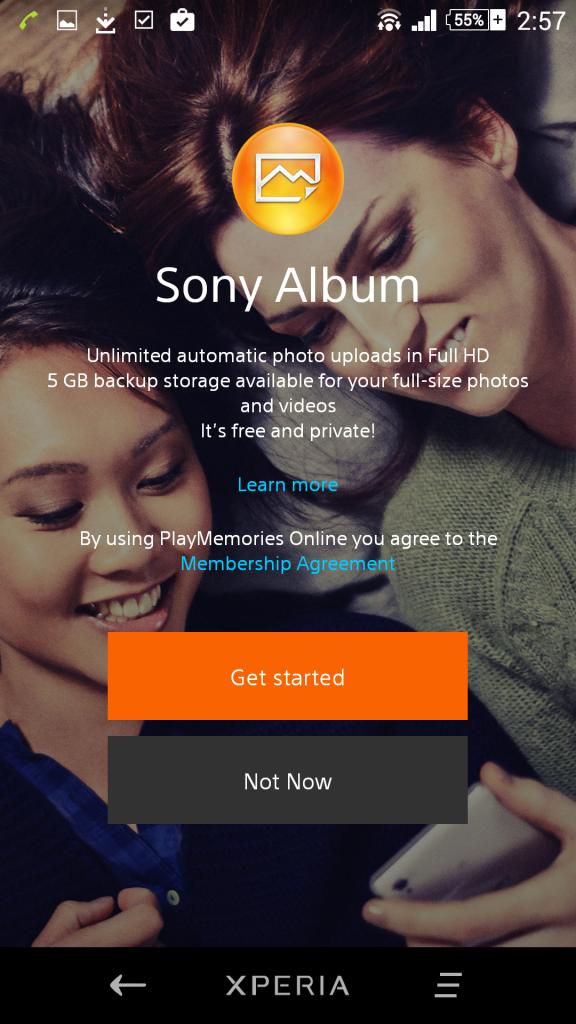 Sony Album 6.5.A.0.10 update rolling