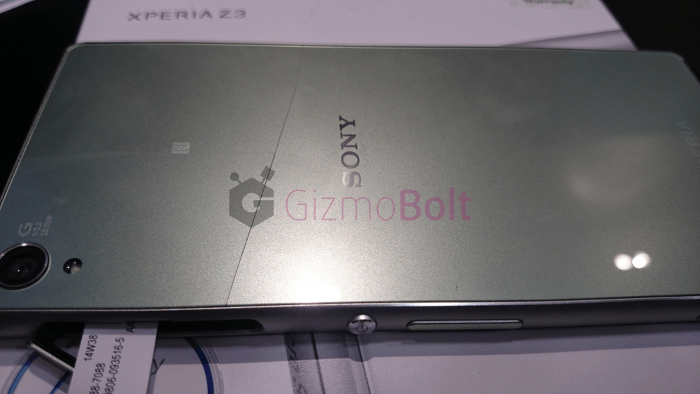 Sony Xperia Z3 Screen Cracked
