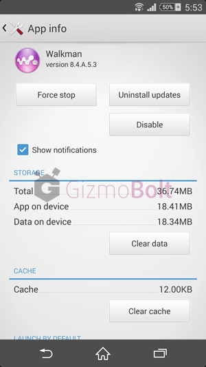 Walkman 8.4.A.5.3 update apk