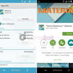 Install Xperia MateriaL eXperiance theme for non rooted devices