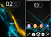 Xperia Theme Ice Line