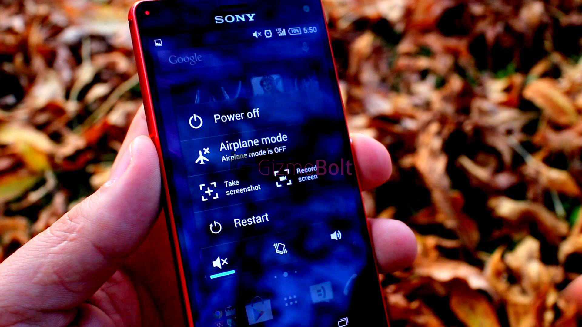 Xperia Z3 Compact Record Screen feature