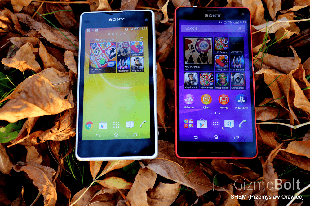 Xperia Z3 Compact vs Z1 Compact Comparison