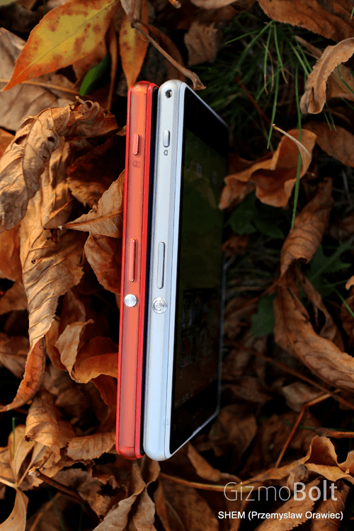 Xperia Z3 Compact vs Z1 Compact Thickness comparison