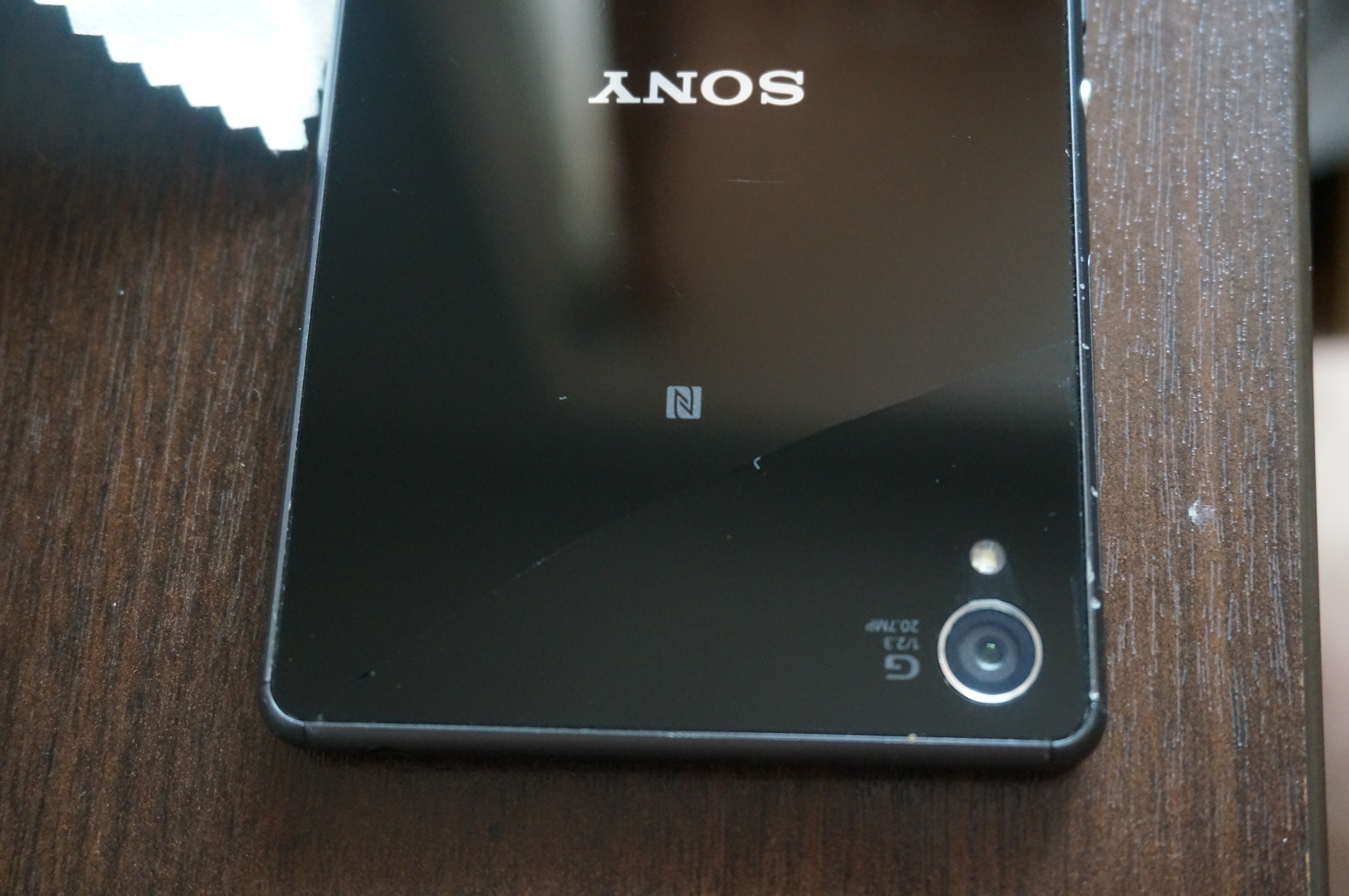 Xperia Z3 Screen Cracks