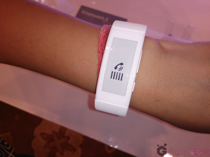 SmartBand Talk SWR30 296x128 screen resolution, 192 dpi