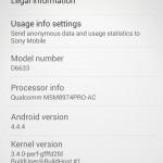 Xperia Z3 Dual D6633 23.0.F.1.82 firmware update rolling