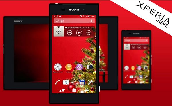 Download Xperia Christmas Theme  for Xperia Z2