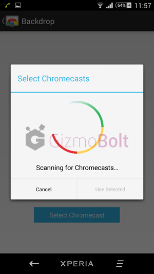 How to set up Chromecast screen casting feature