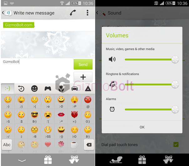 Install Xperia Christmas Theme