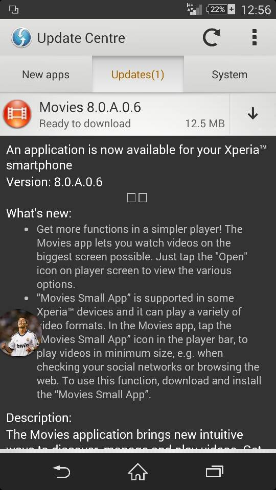 Movies 8.0.A.0.6 update