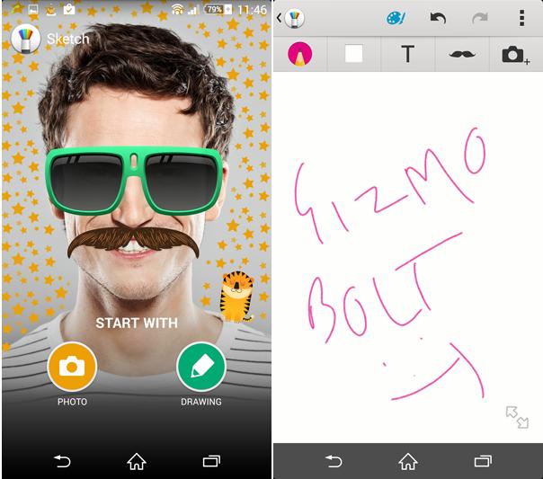 Sony Sketch 5.0.A.0.2 app
