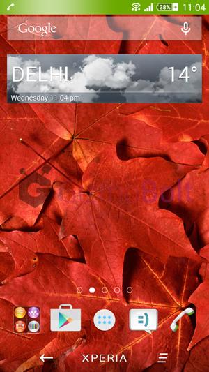 Sony Weather 2.1.A.0.10