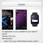 Sony Walkman 8.5.A.0.6 app update rolling – Support for Android Wear device added