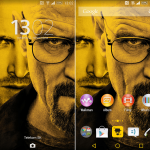 Get Xperia Breaking Bad Theme with Android L breath style