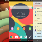 Xperia Android 5.0 Theme pack with material design wallpapers