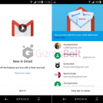 Download Gmail 5.0 with Exchange Support for all android devices from Play Store