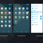 Install Pure Xperia MaTeRiaL Blue Theme with Icons Pack