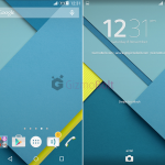 Download Xperia Android 5.0 Lollipop Theme for android 4.4.2+ non rooted devices