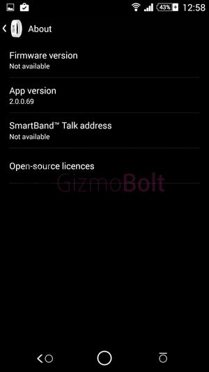 SmartBand Talk SWR30 2.0.0.69 app