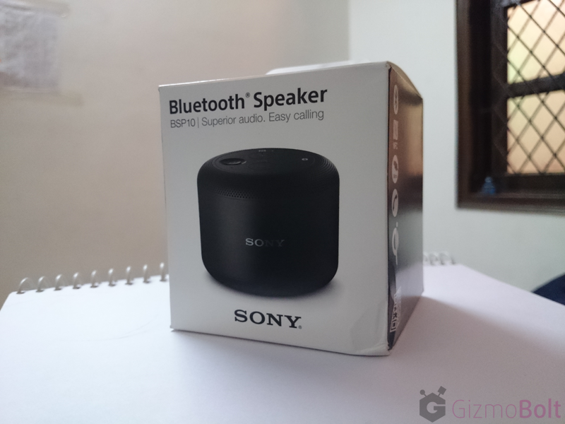 sony bluetooth speaker bsp10 how to connect