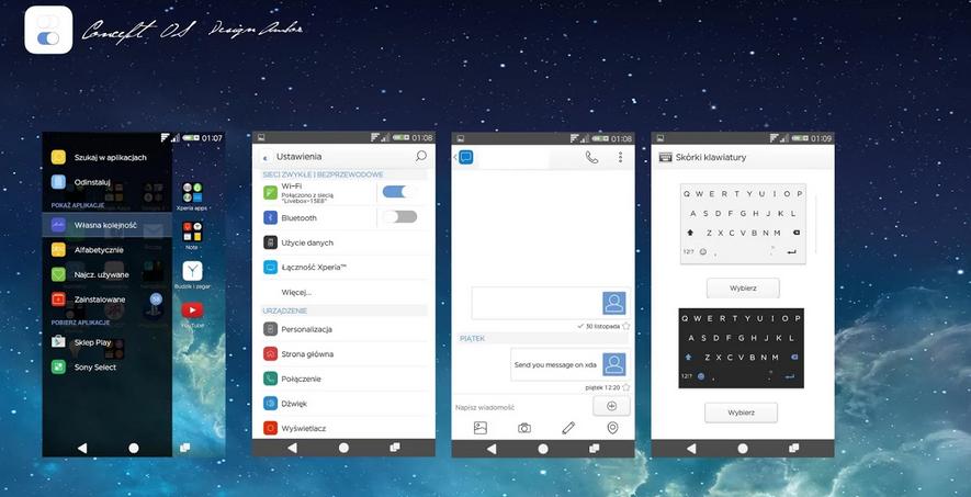 Xperia Concept OS Theme