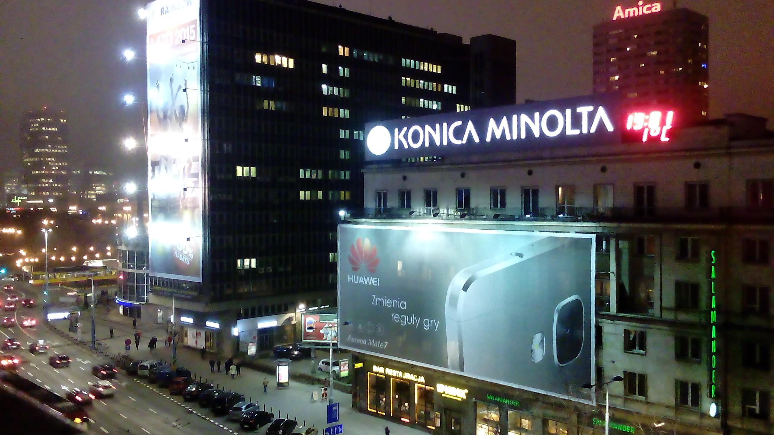 Xperia E4 Night Camera Sample