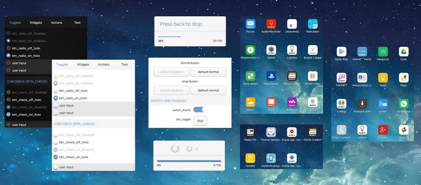 Xperia OS Concept Theme