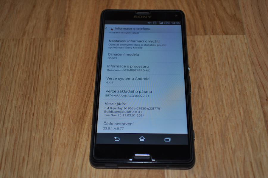Xperia Z3 Compact 23.0.1.A.5.77 firmware