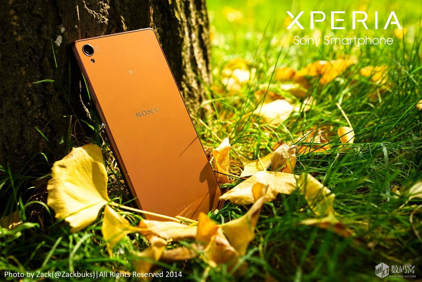 Xperia Z3 Pics Copper Colored