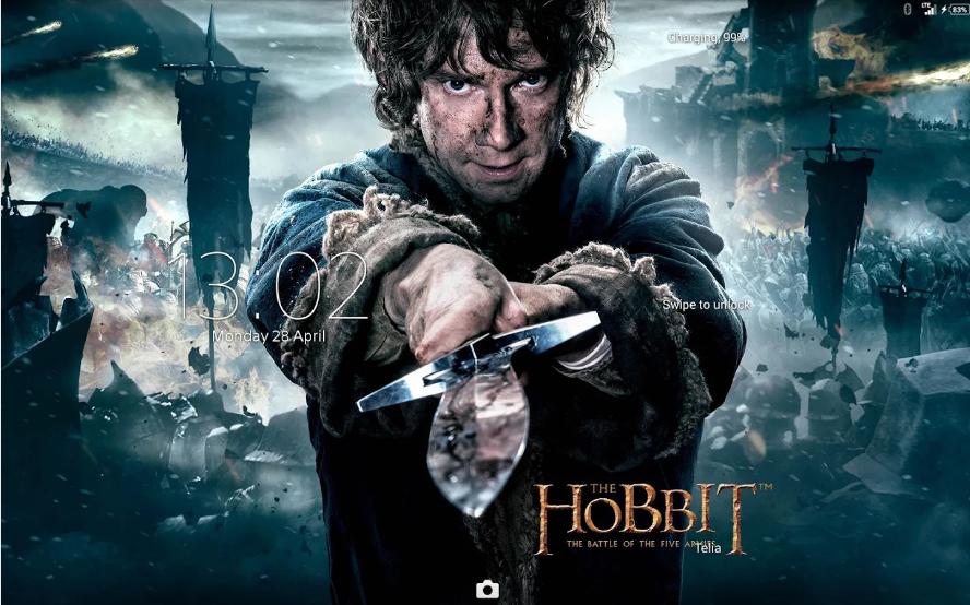 Xperia The Hobbit Theme