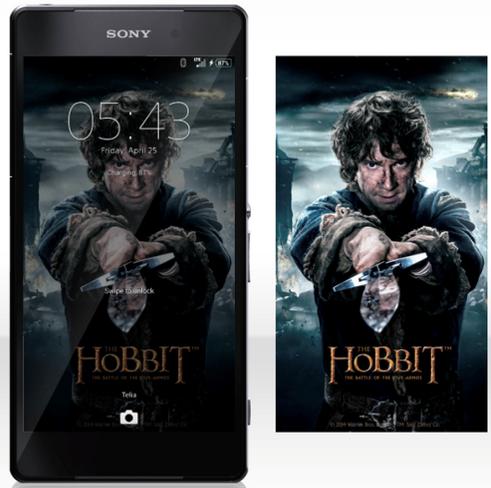 Xperia The Hobbit Theme for Xperia Z3