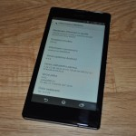 Xperia T3 Android 4.4.4 KitKat 18.1.A.2.25 firmware update rolling