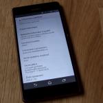 Xperia Z3 Dual 23.0.F.1.96 firmware update rolling