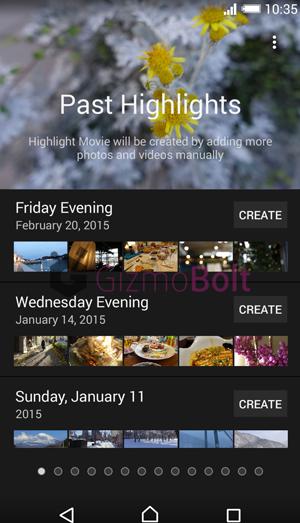 Android 5.0 Soft keys Sony