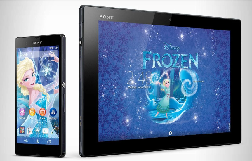 Download Xperia Frozen Elsa Theme