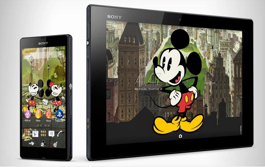 Download Xperia Mickey New York Theme