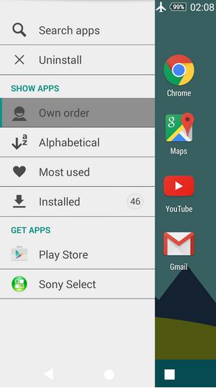 Download Xperia Minimal Theme