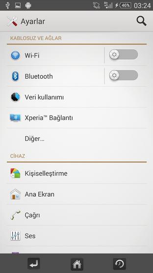 Download Xperia Trabzen Theme
