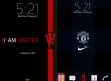 Manchester United Xperia Theme